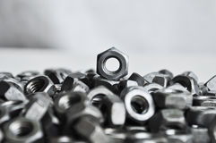 Screw nut Royalty Free Stock Images