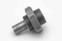 Screw and nut Stock Photo