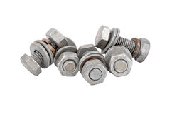 Screw and nut Stock Photography