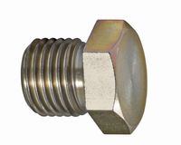 Screw with nut Stock Image