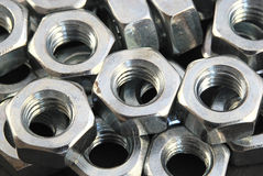 Screw-nuts Stock Images