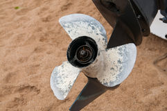 Screw propeller Royalty Free Stock Image