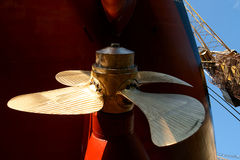 Screw propeller Royalty Free Stock Images
