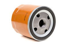 Screw-on Type Oil Filters For a car Stock Photos