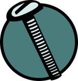 Screw vector illustration. Vector illustration of a screw Stock Photos