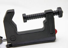 Screw Vise Clamp Royalty Free Stock Photography