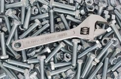Screw wrench Stock Images