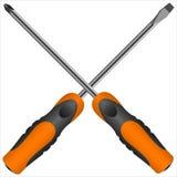 screwdriver Fotografia de Stock Royalty Free