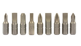 Screwdriver bits Stock Images