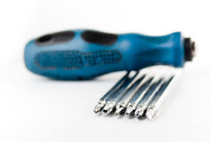 Screwdriver collapsible Royalty Free Stock Photo