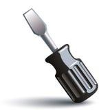 Screwdriver 3d vector icon. Royalty Free Stock Photos