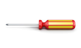 Screwdriver. 3d. Stock Image