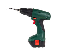 Screwdriver drill Stock Photo