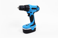 Screwdriver drill Royalty Free Stock Photo