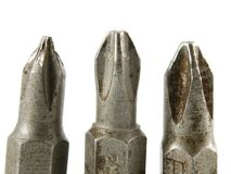 Free Screwdriver Heads3 Royalty Free Stock Images - 1895359
