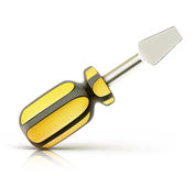 Screwdriver icon Royalty Free Stock Photos