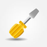 Screwdriver icon vector illustration Stock Photo