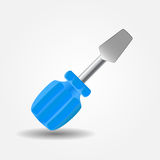Screwdriver icon vector illustration Stock Photography