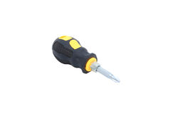 Screwdriver on isolated Royalty Free Stock Images
