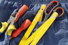 Screwdrivers pliers Royalty Free Stock Photo