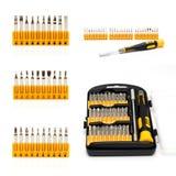 Screwdriver set. Universal hand tool Stock Photos