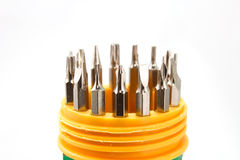 Screwdriver Set whitebackground royalty free stock photography