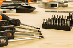 Screwdriver set Stock Photos