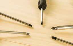 Screwdriver set Royalty Free Stock Image