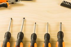 Screwdriver set Stock Image