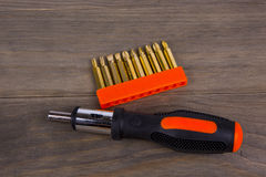Screwdriver set Royalty Free Stock Photography