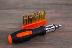 Screwdriver set Royalty Free Stock Images