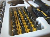 Screwdriver sets Royalty Free Stock Photo