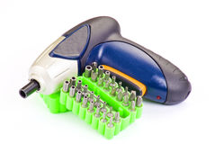 Screwdriver tool kit Royalty Free Stock Image