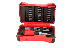 Screwdriver tool kit Royalty Free Stock Photos