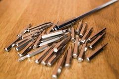 screwdrivers Imagens de Stock