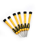 Screwdrivers isolated Royalty Free Stock Photos