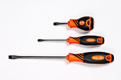 Screwdrivers isolated on white background Stock Photo