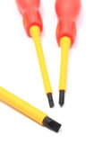 Screwdrivers isolated on white background Royalty Free Stock Photo