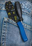 Screwdrivers pliers Stock Image