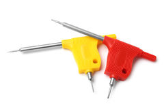Screwdrivers for repair of mobile devices Royalty Free Stock Images