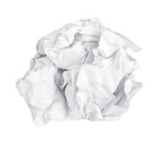 Free Screwed Up Piece Of Paper Stock Photos - 40132533
