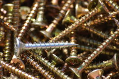The screws Royalty Free Stock Photography