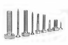 Screws And Bolts. Royalty Free Stock Photos