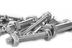 Free Screws And Nuts Royalty Free Stock Photography - 17926977