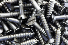 Screws Background Stock Photography
