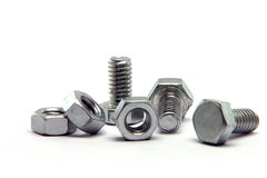 Screws and  bolts Stock Photography