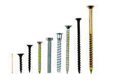 Screws and bolts Stock Photos