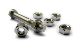 Screws And Bolts Royalty Free Stock Image