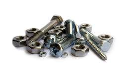 Screws And Bolts Stock Image