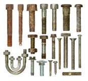 Screws collection Stock Photo